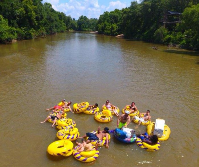 2) Tubing on the Northshore