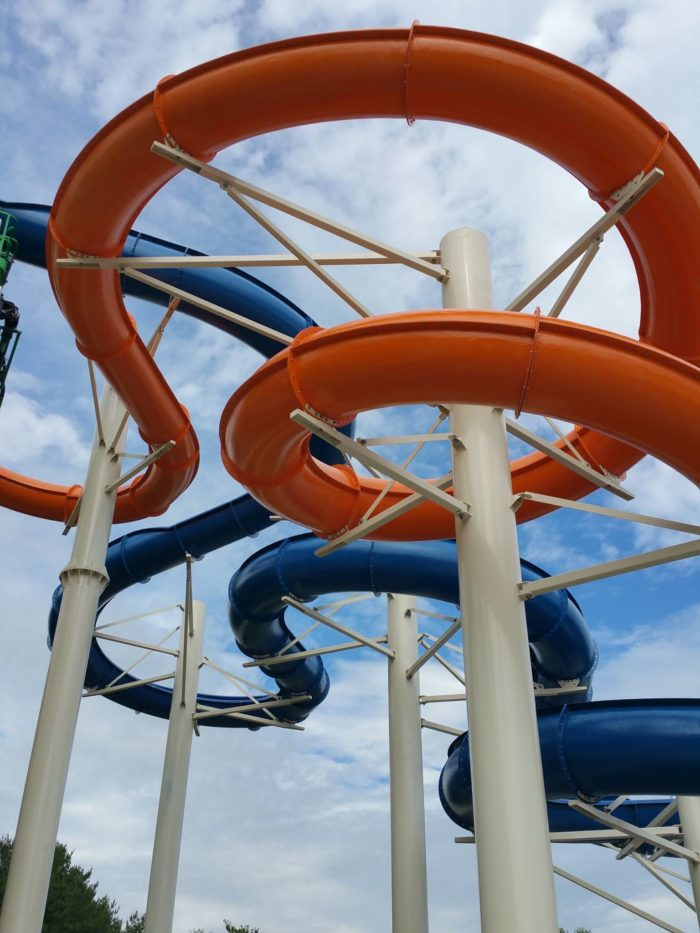 Oh... did we mention that there's a GIANT WATER PARK!?