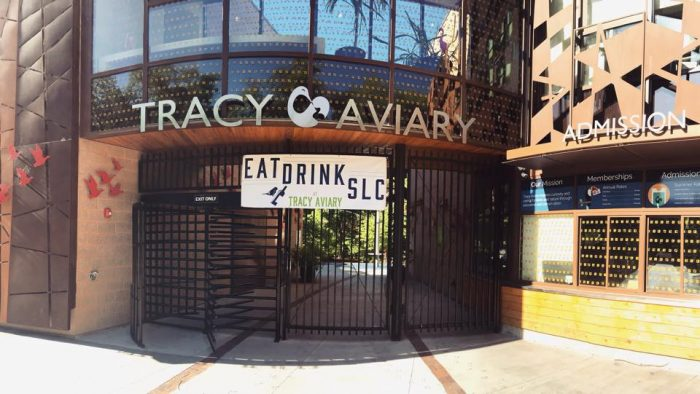 Tracy Aviary is also inside the park, in the southwest section.