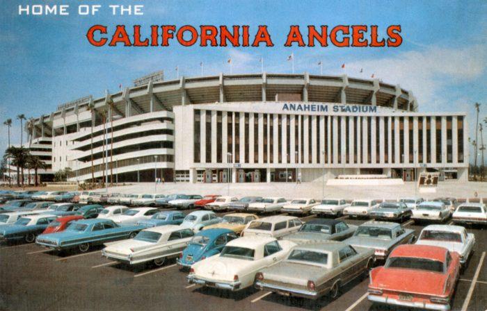 1. Anaheim Stadium -- circa 1967 and 2009