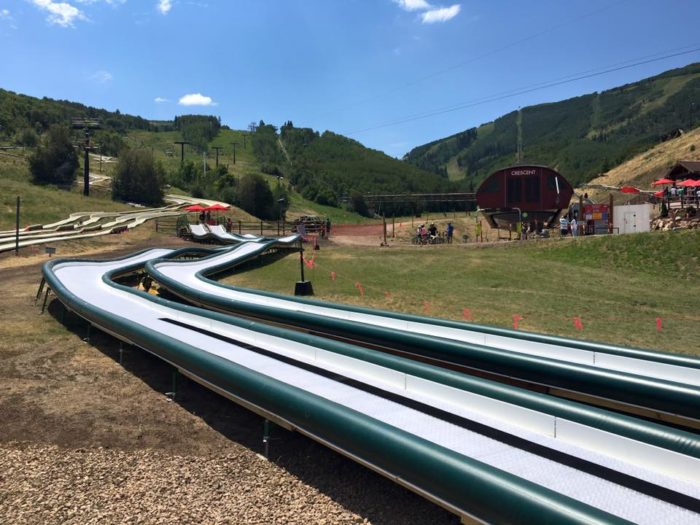 ...Kids' tubing track and more.