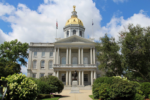1. The state capital.