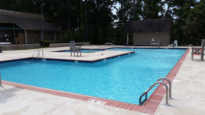 You can also swim in the park's pool, which has its own waterslide.
