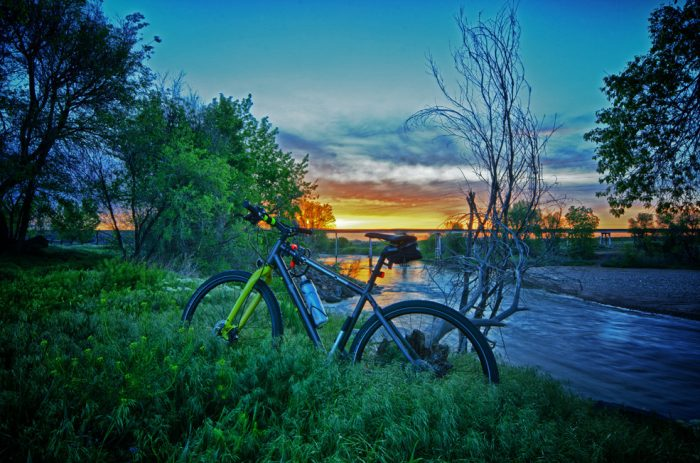 20. ...or ride the trails along the South Platte to witness a sunrise like this...