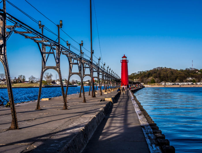 6. Grand Haven Waterfront Trail