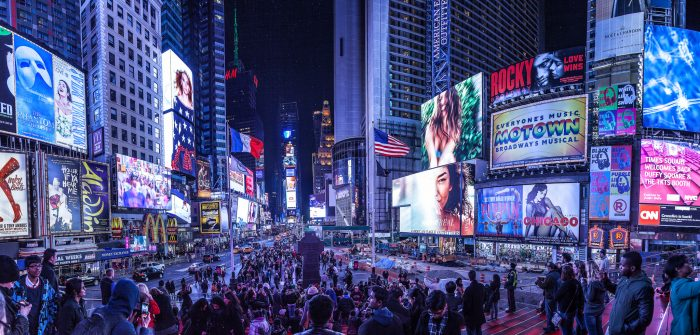 4. Times Square (on weekends)