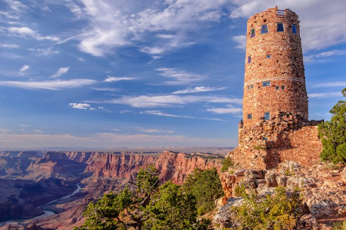 2. The history here—cultural, geological, architectural—runs deep. The popular story is that the Grand Canyon is 6 million years young but some scientists believe it may have even been carved as early as 70 million years ago. There are also more than 4,800 archaeological sites within and near the canyon.