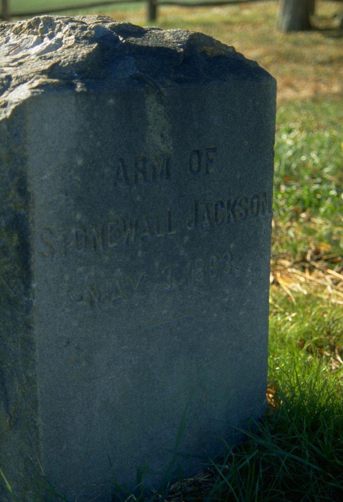 2. Arm of Stonewall Jackson (Fredericksburg)