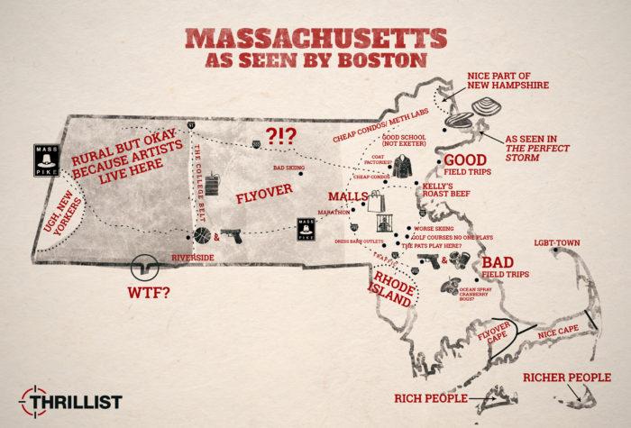 1. How Boston sees the rest of Massachusetts.