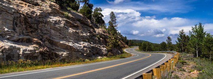 1. Peak to Peak Highway