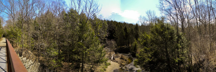 This may be the most beautiful rail trail in the state, so don't miss out!