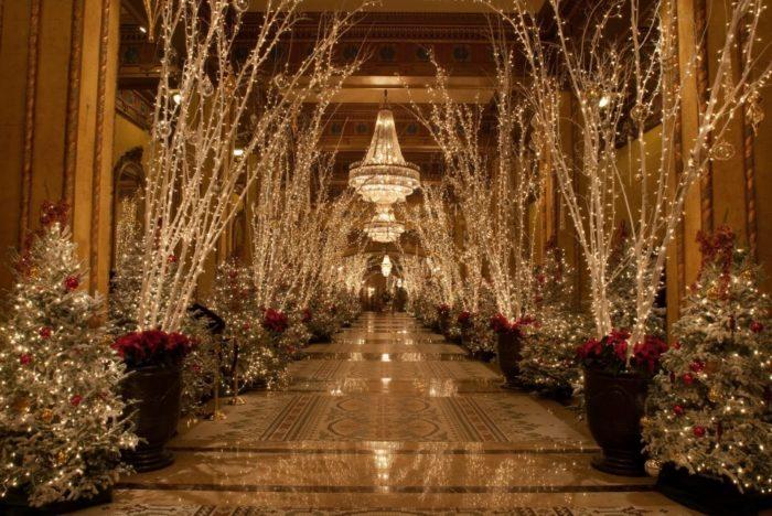 2) Roosevelt Hotel during Christmas, 130 Roosevelt Way