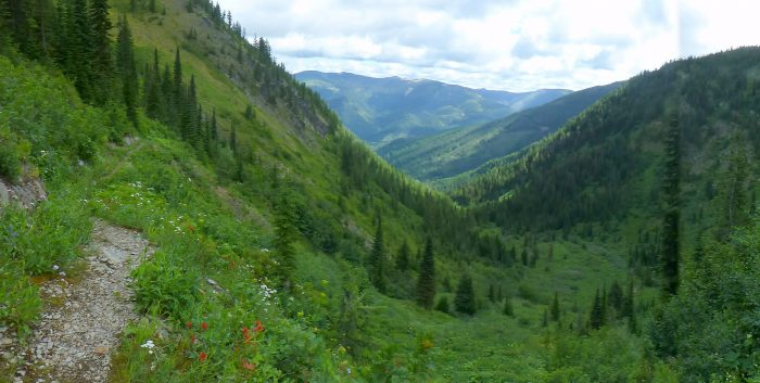 Here, in the rugged forests of Northern Idaho, looking down towards Mullan, one can see why Lewis and Clark struggled to navigate this challenging and diverse landscape over 200 years ago.