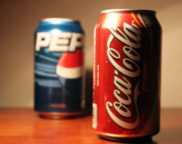 """5. """"Pepsi and Coke are pretty much the same thing."""""""