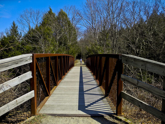 The Airline State Park Trail is a rail trail over 50 miles in length!