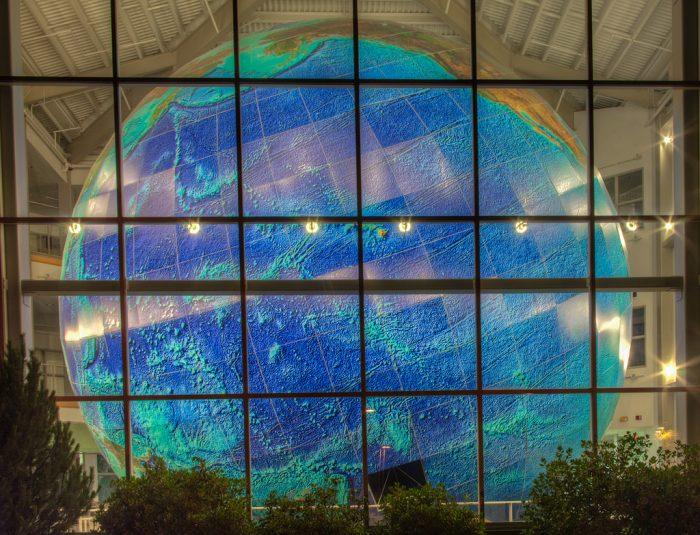 5. The World's Largest Rotating Globe, Yarmouth