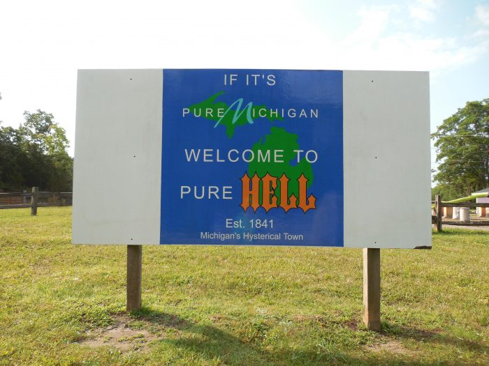 3. Going to Hell (Michigan, that is)