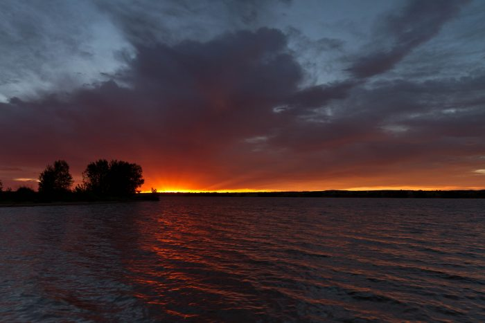 21. ..or to Chatfield Reservoir for the dawning of the day...