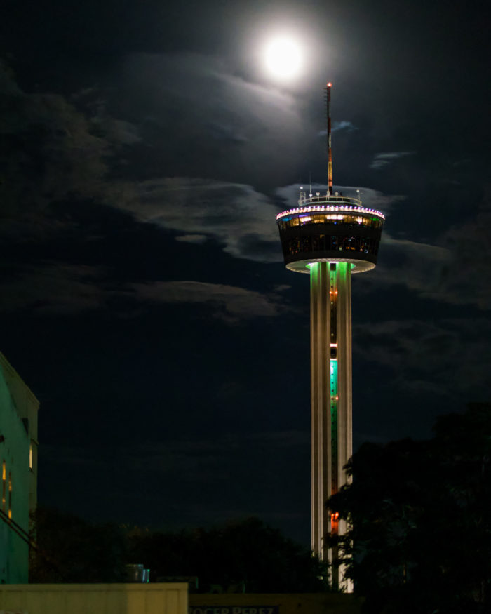 3. The Tower of the Americas is a whopping 750 feet tall and provides a beautiful panoramic view of the city.