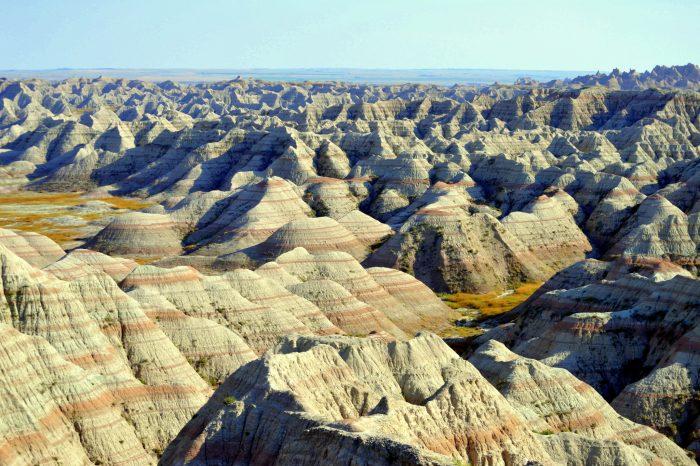 1. Badlands National Park