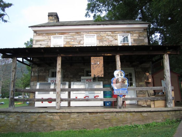 Stop by the Trading Post to stock up on souvenirs before the final sunset on your time at Lake Raystown.