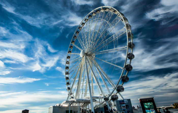 6. Ride the Capital Wheel.