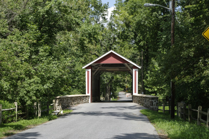 6. Ashland Covered Bridge