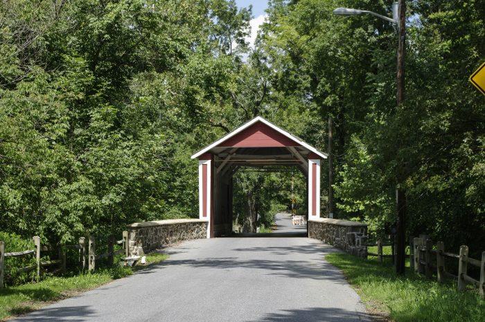 1. The Ashland Covered Bridge