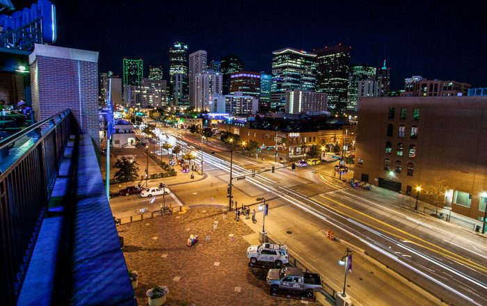 25. But you don't have to get THAT high for a fantastic view of the Denver skyline.
