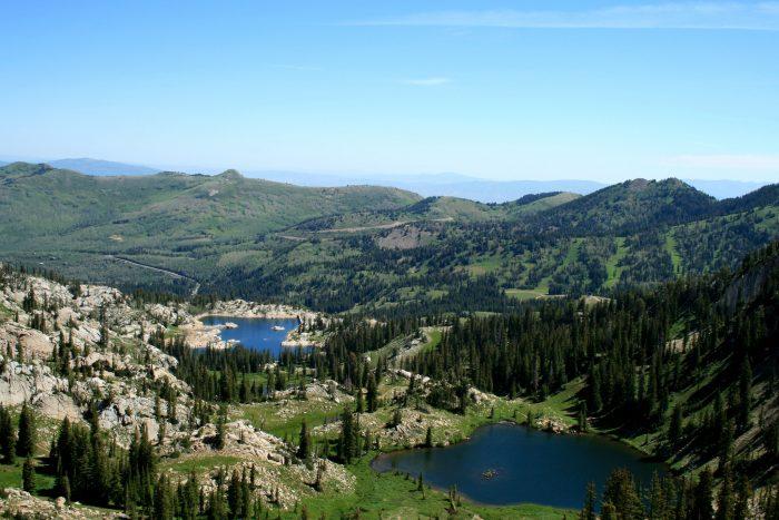 9. Lakes Mary and Catherine, Big Cottonwood Canyon