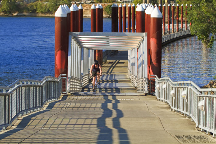 1. Waterfront Park and Eastbank Esplanade Loop