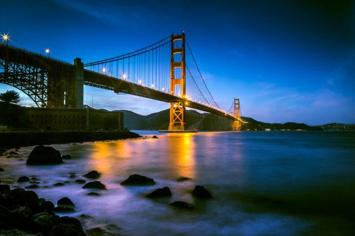 1. Golden Gate Bridge, California