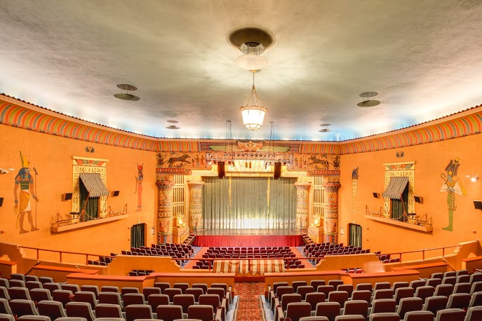7. The Egyptian Theater