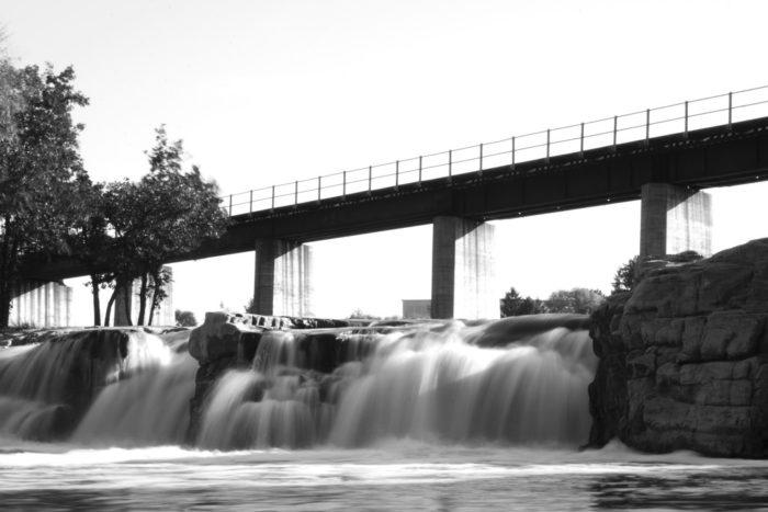 4. Bridge in the Falls Park, Sioux Falls, South Dakota