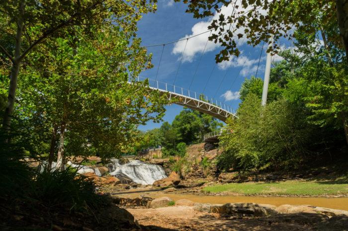 2. Falls Park On The Reedy - Greenville, SC