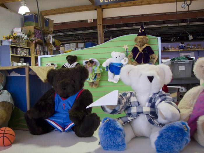 7.  Vermont Teddy Bears
