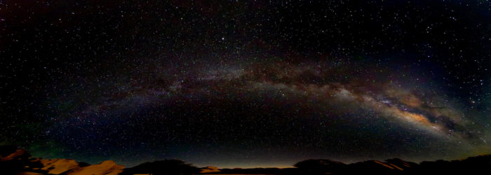 12. Gaze at the night sky without interference from any light pollution.
