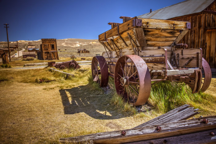 Like a gold rush towns, Bodie's heyday had to come to an end. By 1910, the town had just under 700 residents; by 1920 only 120 people lived there.