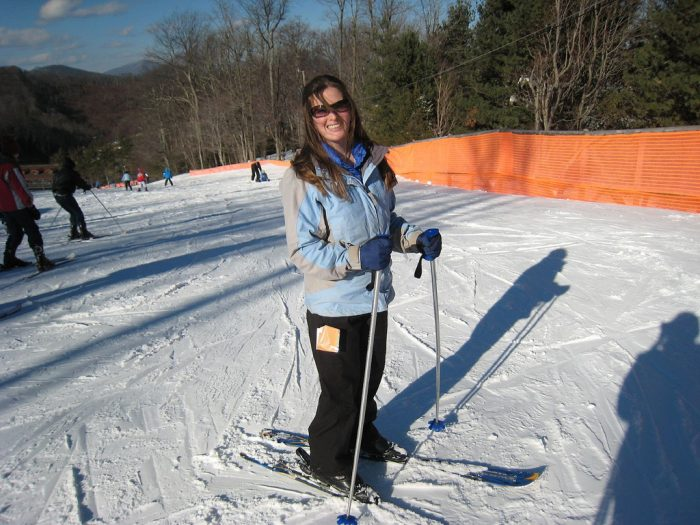 10. In the winter, hit the slopes at one of North Carolina's many amazing ski resorts.