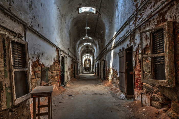 1. Pennsylvania: Eastern State Penitentiary, Philidelphia