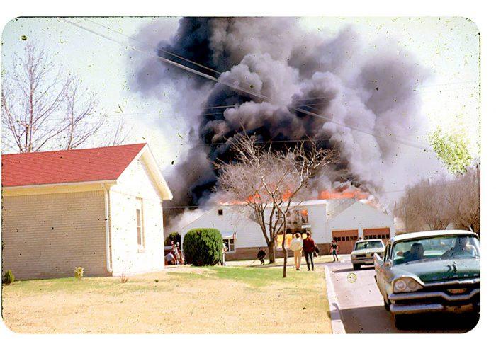 3. Fire in North Harding, South Dakota, 1970