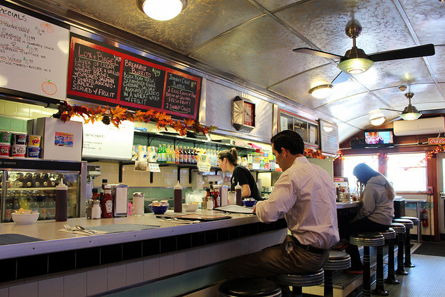 4. Eventually, your sweetie will need to show you their favorite diner and you'll most likely become regulars.