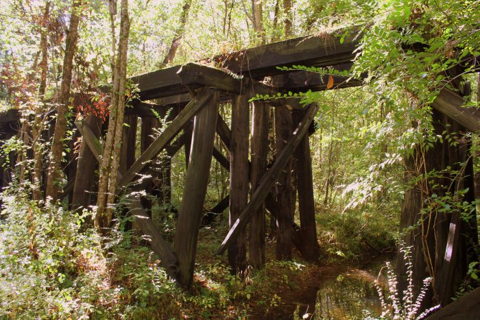 12. The epic abandoned railroad trestle.