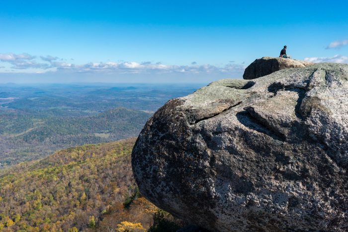 3. Tackle an iconic Blue Ridge Mountain hike.