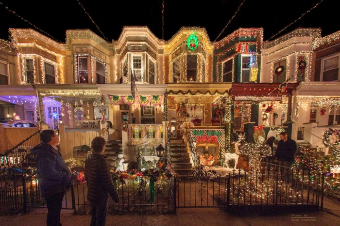 19. View the festive lights at Baltimore's 34th Street.