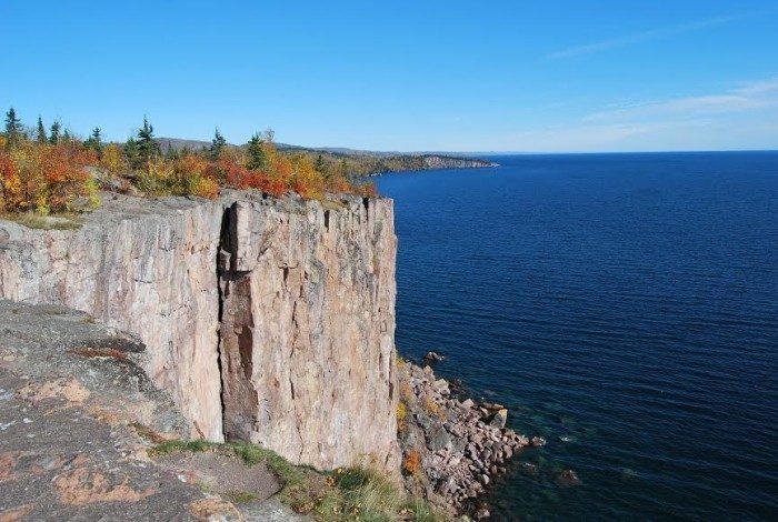 1. Take in the view from Palisade Head on the North Shore, and hike the surrounding cliffs at Tettegouche. They're unbelievable!