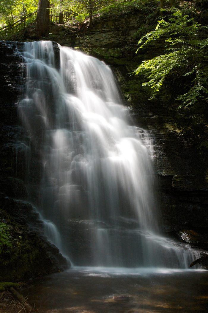 Bushkill Falls Is Pennsylvania's Niagara Falls