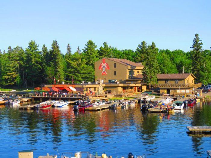 It encompasses 55 acres of land with 1,500 feet of amazing shoreline.