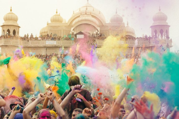 2. Participate In The Largest Holi Festival In The Western Hemisphere