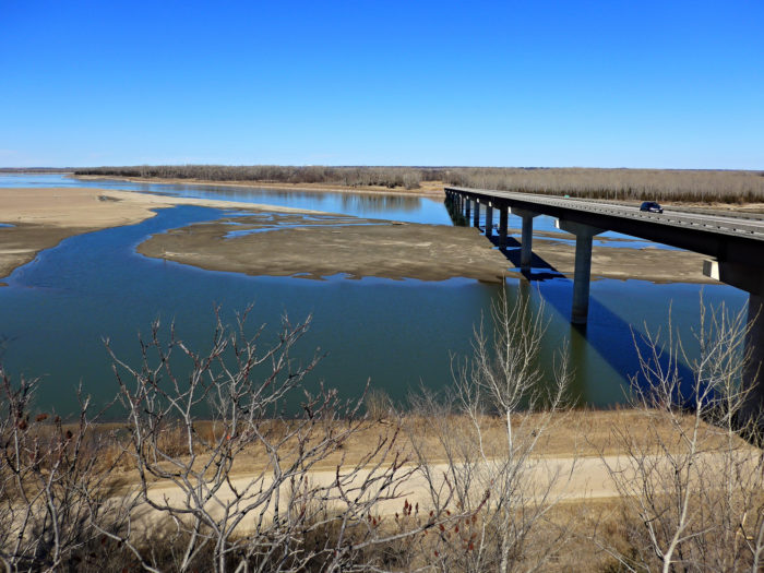 10. Bridge between South Dakota and Nebraska over the Missouri River